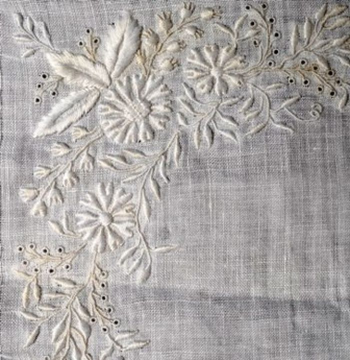 Broderie anglaise fine whitework rsn collection art i