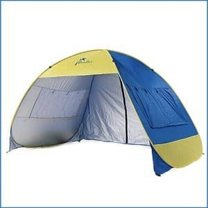 Shade Shack Instant Pop Up Family Beach Tent and Sun Shelter : best family beach tent - memphite.com