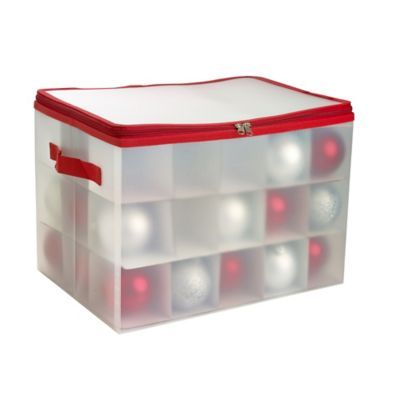 Christmas Ornaments Storage Box Christmas Pinterest Christmas