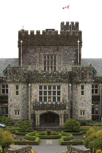 Hatley Castle, Royal Roads University, Colwood, British Columbia, Canada