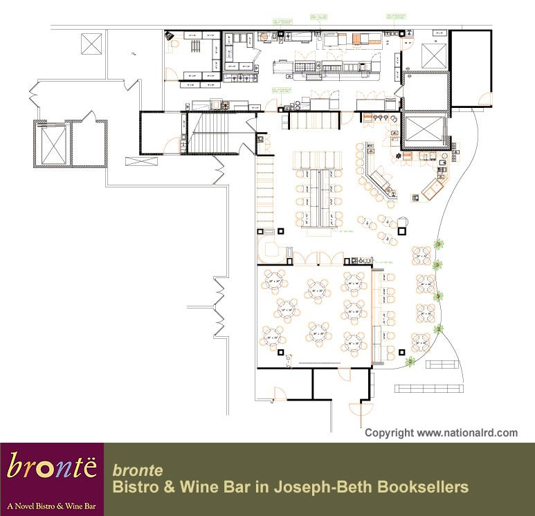 Bronte Bistro Wine Bar Design