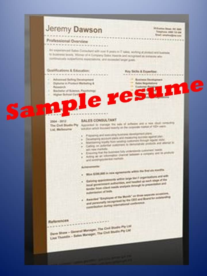 Sample resumes and resume templates available at http - resume template au