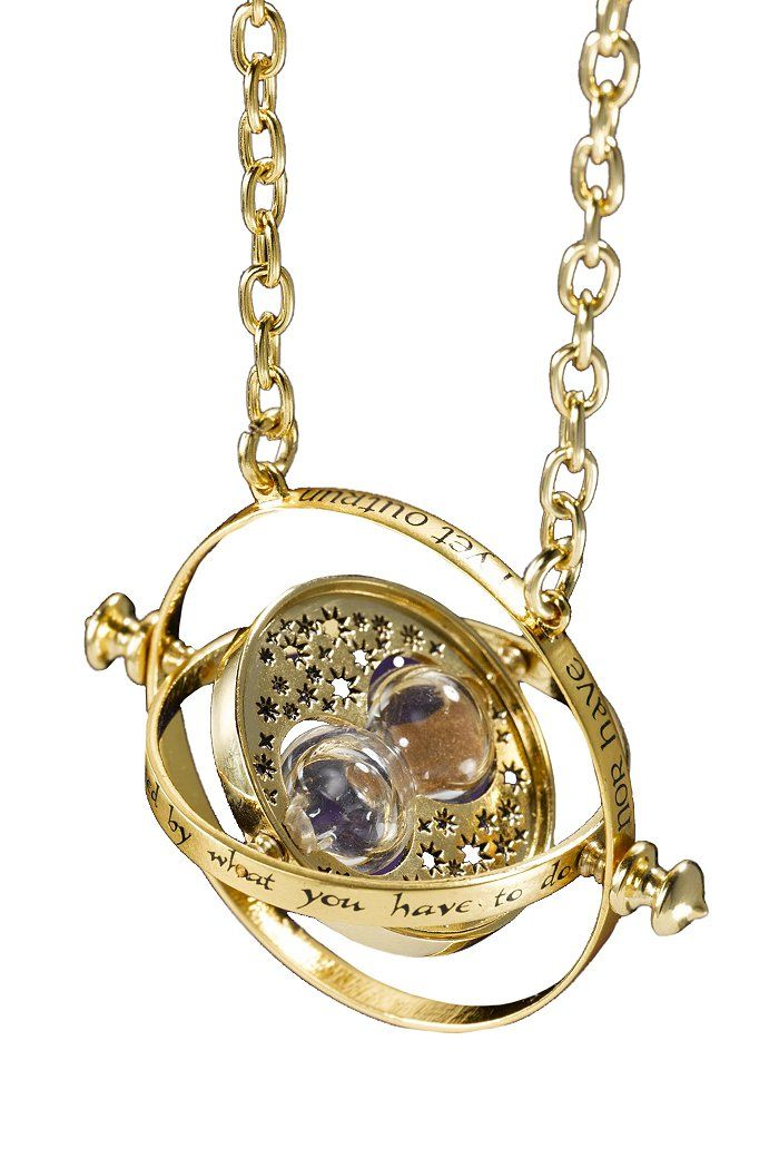 Authentic recreation of Hermione's time-turner necklace