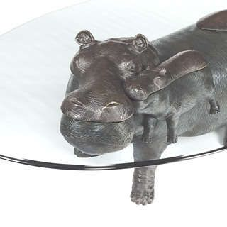 Animal Sculpture Furniture Home In The New System Pinterest - Hippo coffee table