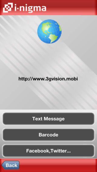 I Nigma Qr Code Data Matrix And 1d Barcode Reader Barcode Reader Qr Code Text Messages
