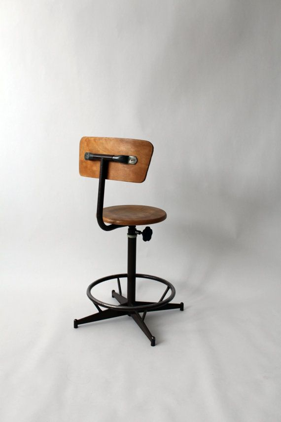 High Quality Vintage U0027la Posteu0027 French Industrial Chair By OwlAndTheElephant,