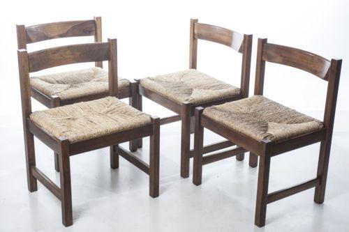 Sedie Antiquariato ~ Quattro sedie torbecchia di giovanni michelucci per poltronova