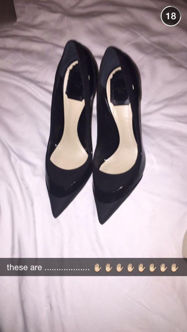 Ariana Via Snapchat Shoes Heels Fashion