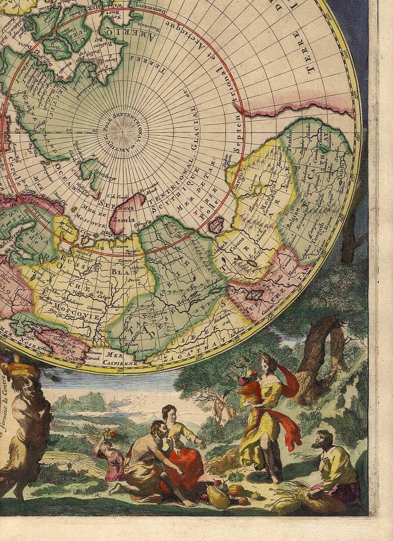 Mortier poles antique world maps ancient maps 72 mapas mapas antique world map gumiabroncs Images