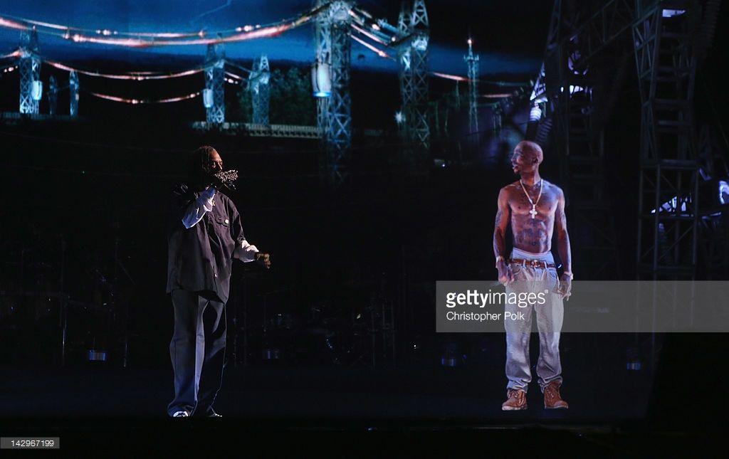 2012 Coachella Music Festival - Day 3 | Outkast | Tupac