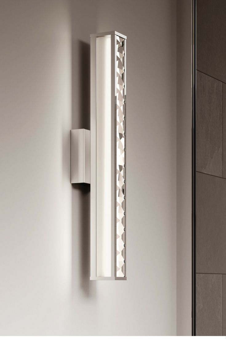 Jessie 23 LED Vanity By Feiss Inspired Fine Jewelry And A Truly Glamorous Fixture On Its Own The Bathroom Light Features