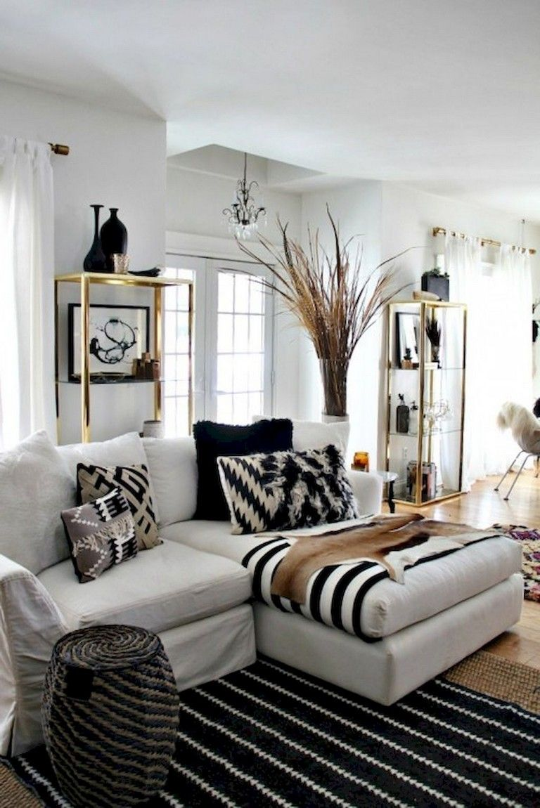 75 luxury apartment living room in black and white style on beautiful modern black white living room inspired id=31162