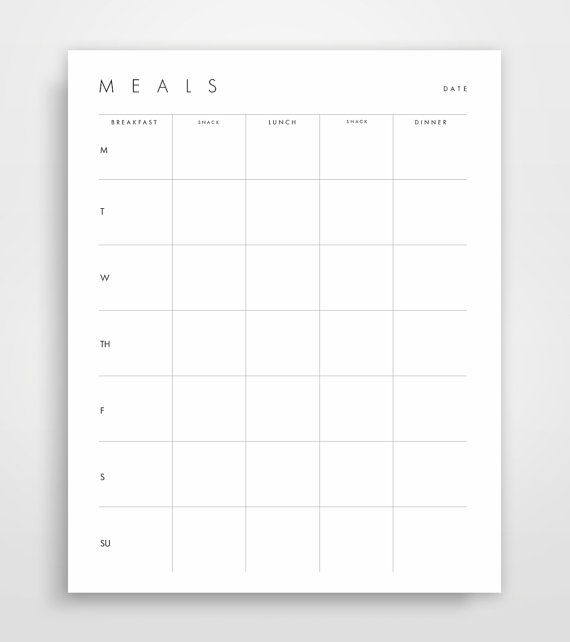 Meal Planner, Grocery List, Shopping List, Shopping Planner, Meal