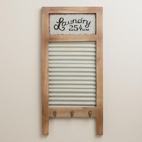 Laundry Washboard Wall Decor At Cost Plus World Market