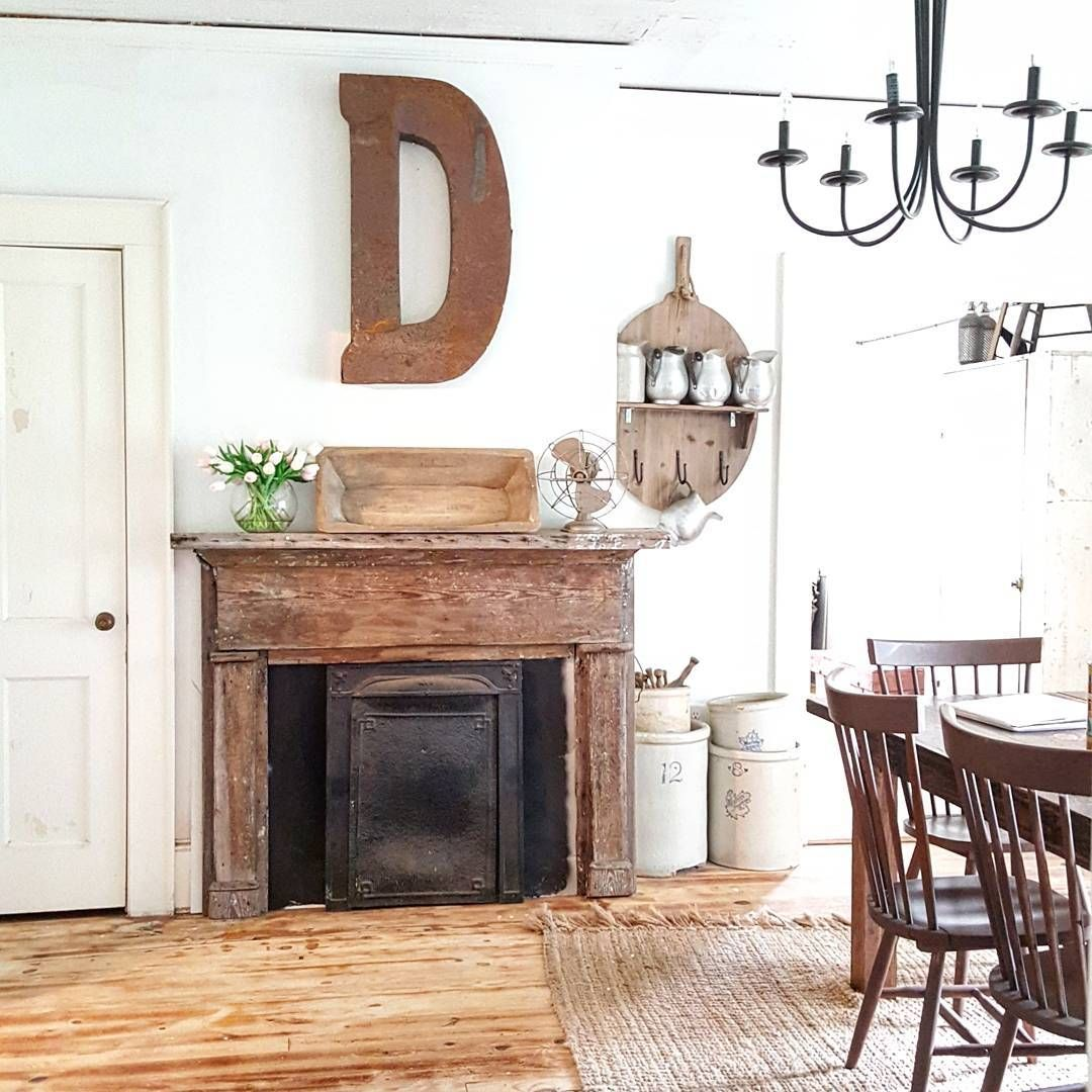 Pin by Brezie McGlothin on Home Dining room fireplace