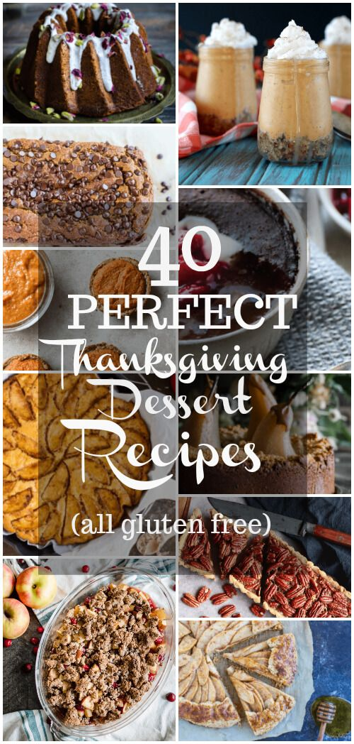 40 perfect thanksgiving dessert recipes real foods thanksgiving 40 perfect thanksgiving dessert recipes forumfinder Choice Image