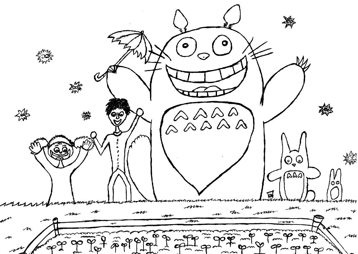 My Neighbor Totoro With Images