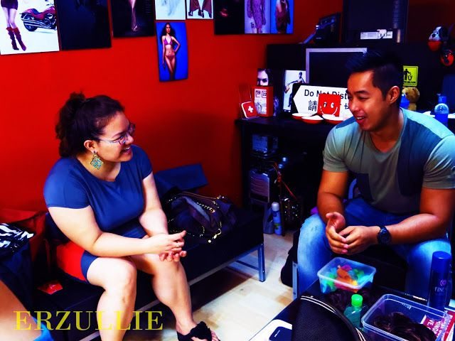 Photo of ERZULLIE — Fierce Plus Size Fashion: PLUS SIZE FASHION: (BEHIND THE SCENES) ERZ…
