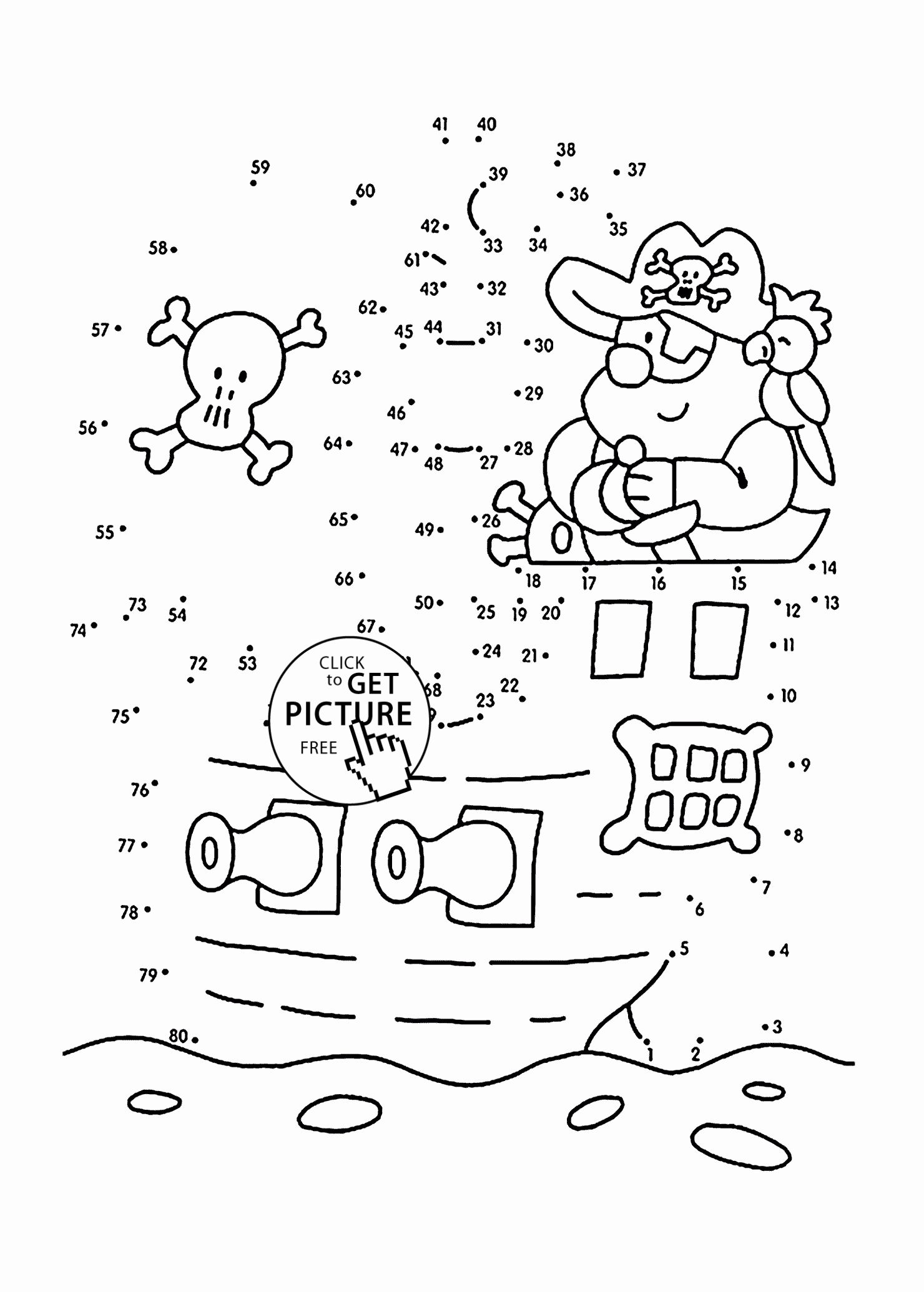 Coloring Math Activities For Preschoolers Luxury Pirate Dot To Dot Coloring Pages For Kids Connect The D Pirate Coloring Pages Pirate Activities Dot Worksheets [ 2070 x 1480 Pixel ]