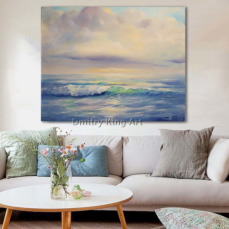 Ocean Waves Painting Seascape Ocean Painting Oil Painting Seascape Large Wall Art Ocean Art Waves Sea Canvas Art Blue Wall Art Ocean Waves Painting Ocean Painting Blue Wall Art
