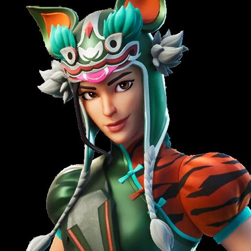 Tigeress Fortnite Wiki Fandom In 2020 Princess Zelda