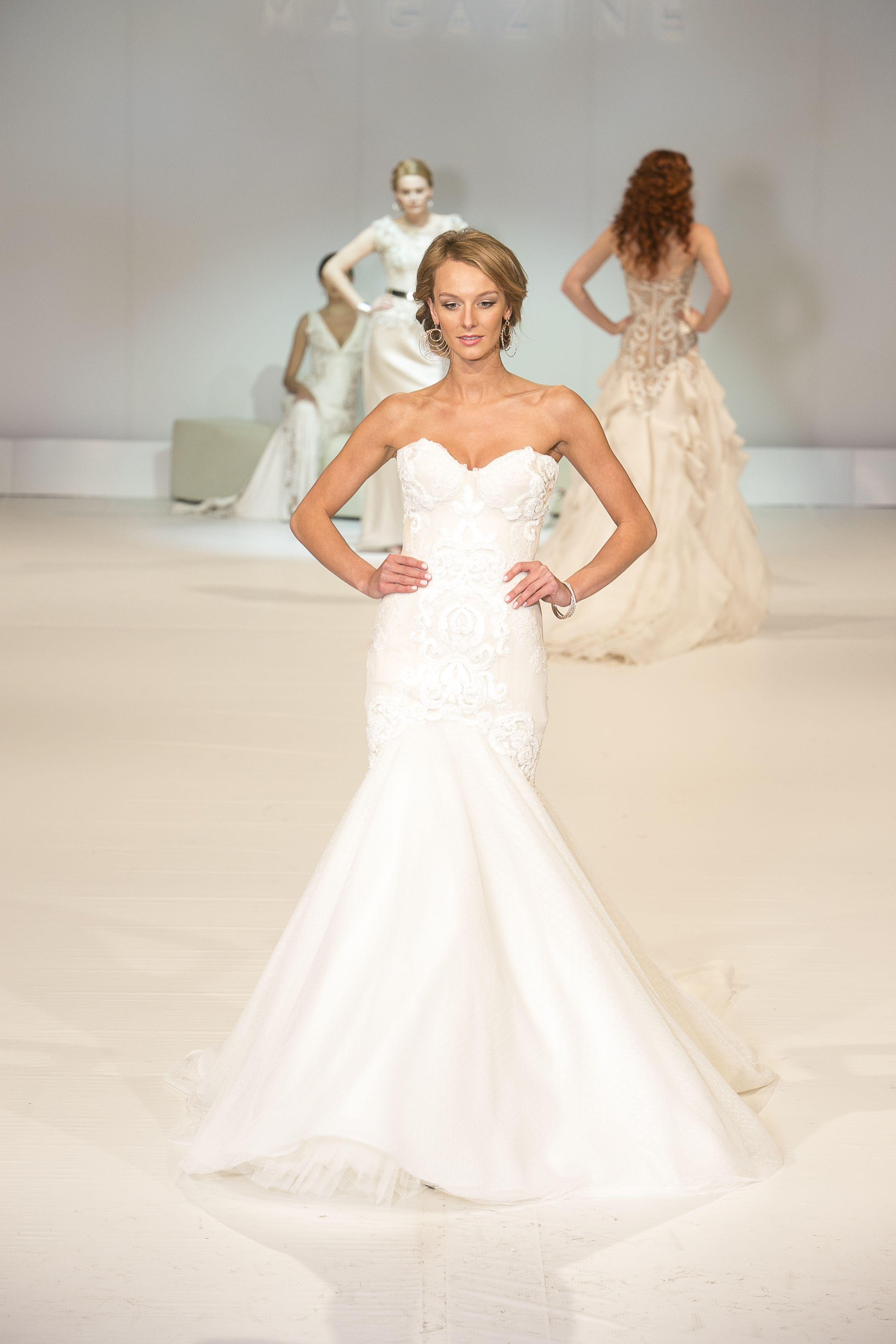 Mermaid shape from craig braybrook wedding dresses for Mermaid shape wedding dress
