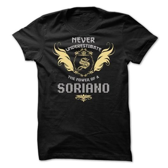 SORIANO Tee - #gift for men #fathers gift. ADD TO CART => https://www.sunfrog.com/Funny/SORIANO-Tee.html?68278