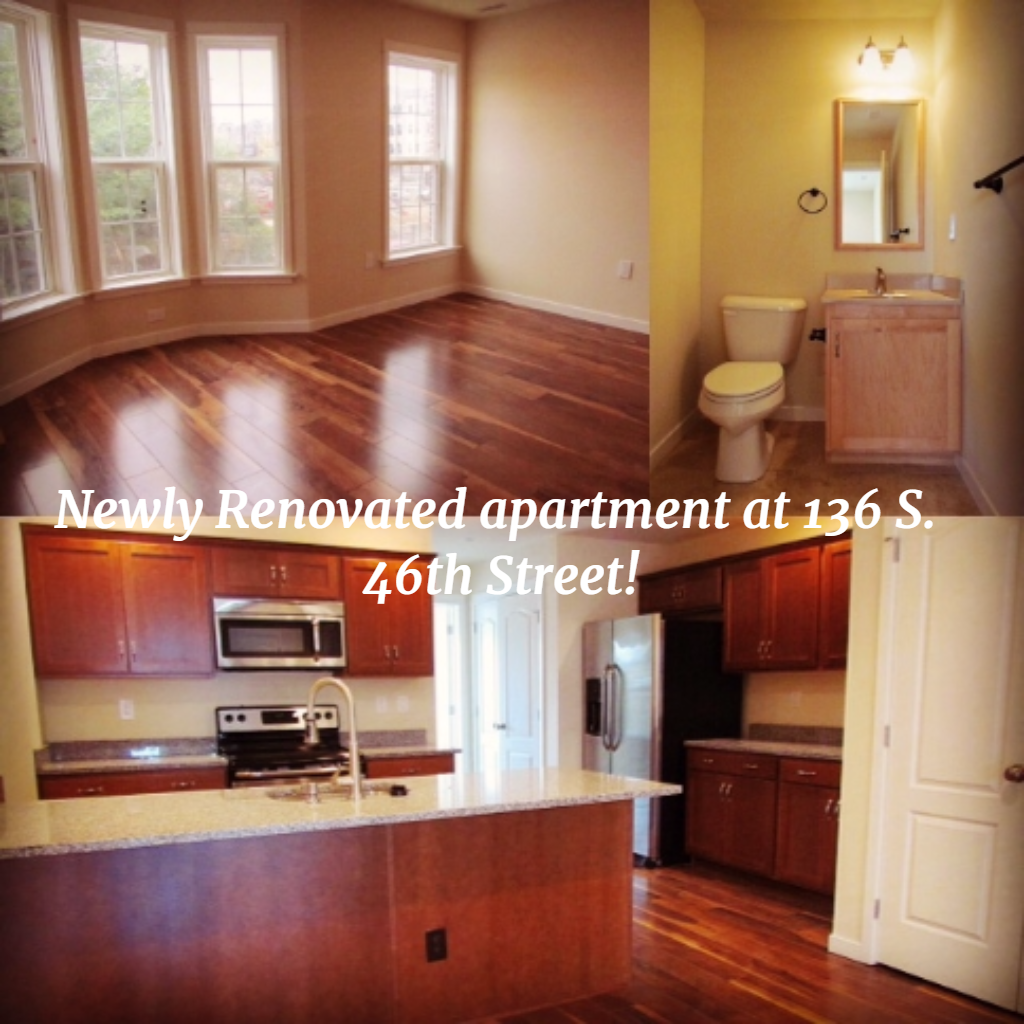 Equinox Property Management Philadelphia: Newly Renovated Apartment At 46th And Sansom Streets In