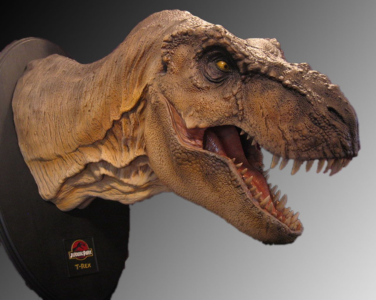 New Jurassic Park 1/5 T-Rex Bust - Page 4 - Statue Forum ...