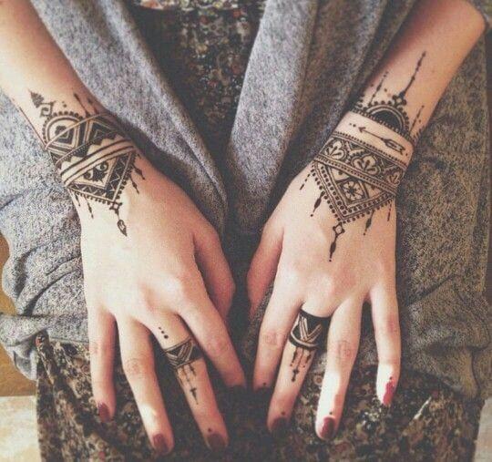 30 Most Popular Mehndi Tattoo Designs in 2019