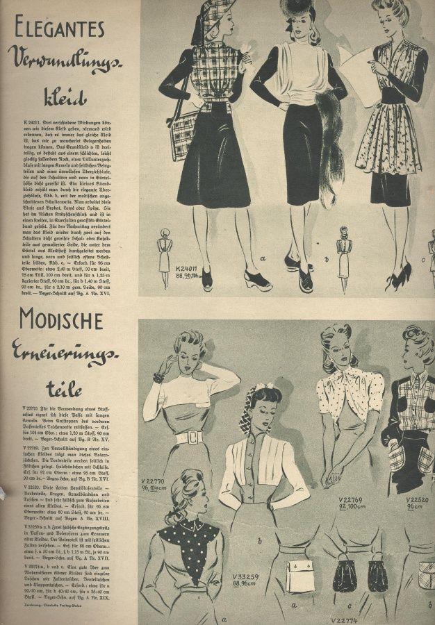 Deutsche ModenZeitung 1941 01 / Deutsche ModeZeitung