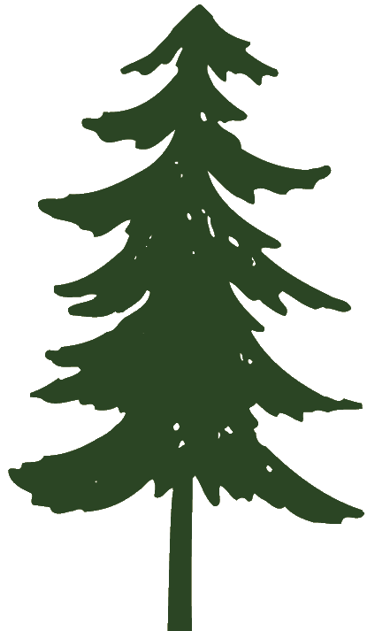 Pine Tree Clip Art Free : Trees, Black, White, Clipart, Image, Silhouette,, Silhouette