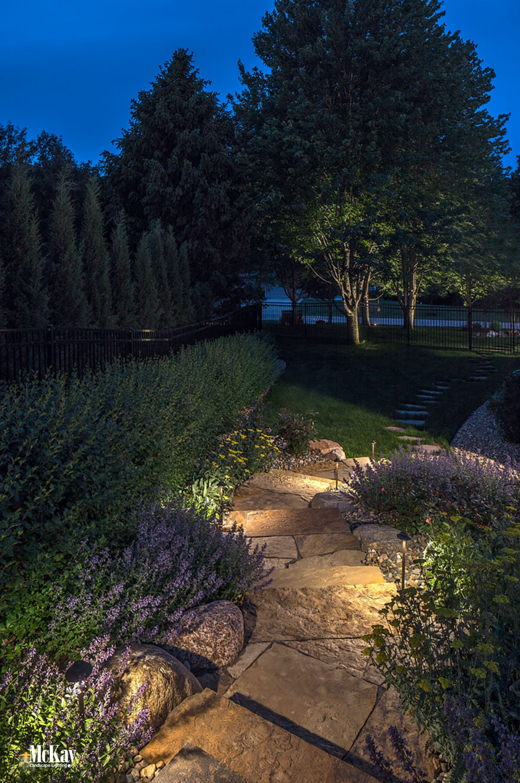 Outdoor Path Lighting Omaha Nebraska Mckay Landscape Lighting Outdoor Path Lighting Outdoor Lighting Landscape Landscape Lighting