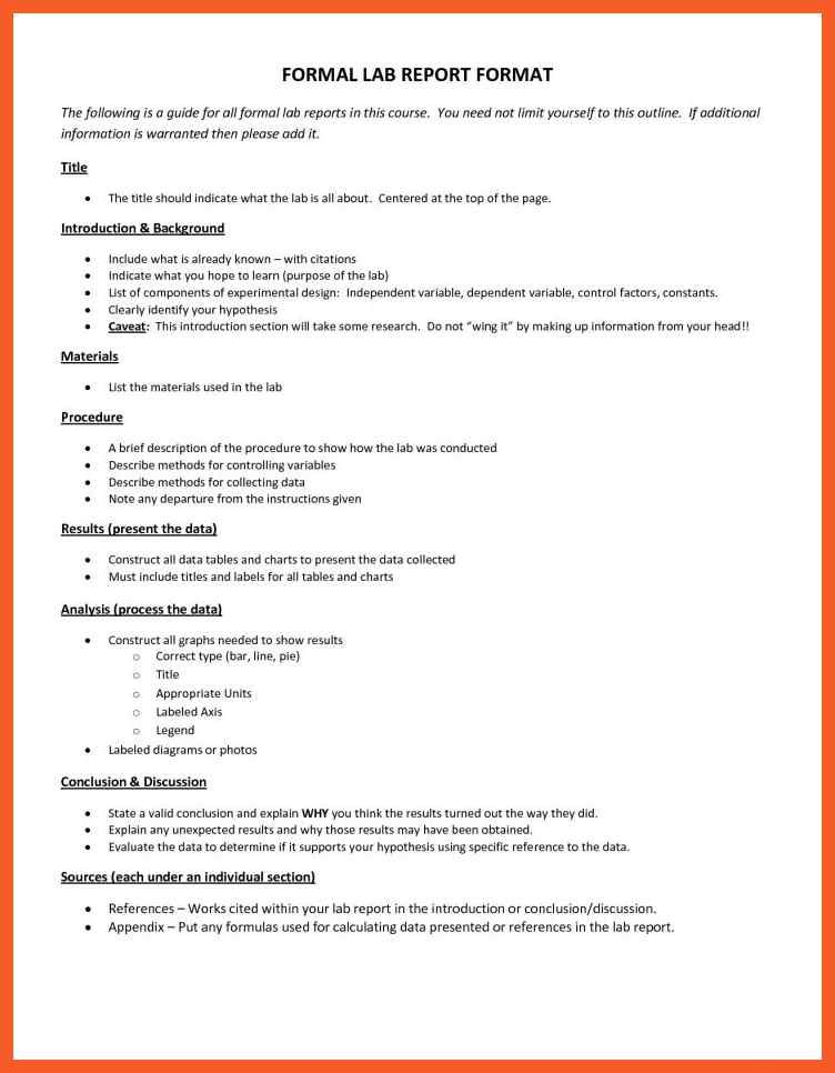 Analysis Report Format Impressive Excellent Microbiology Lab Report Template Images Exle Resume Ideas .