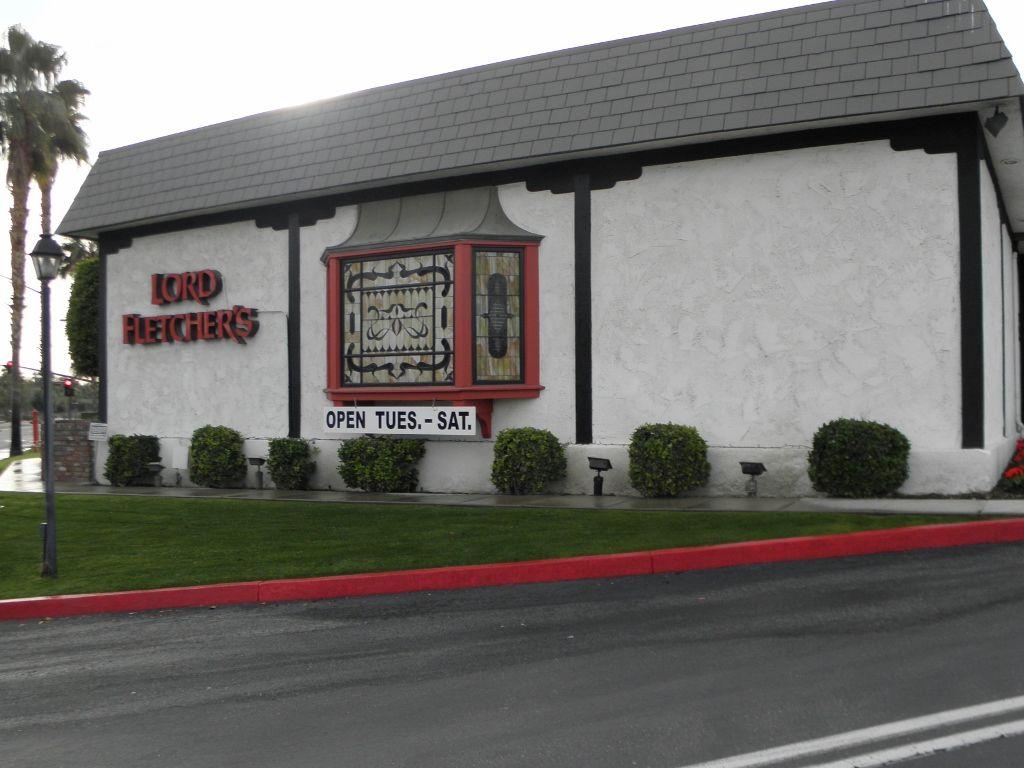 Lord Fletcher's restaurant 70385 Hwy 111 Rancho Mirage, CA