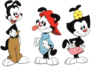 Yakko Wakko And Dot Warner Bros Wiki Fandom Wakko Yakko Animaniacs