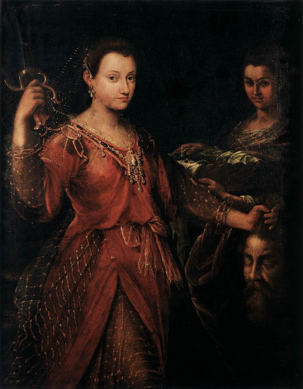 Style De La Renaissance lavinia fontana, woman painter between renaissance and