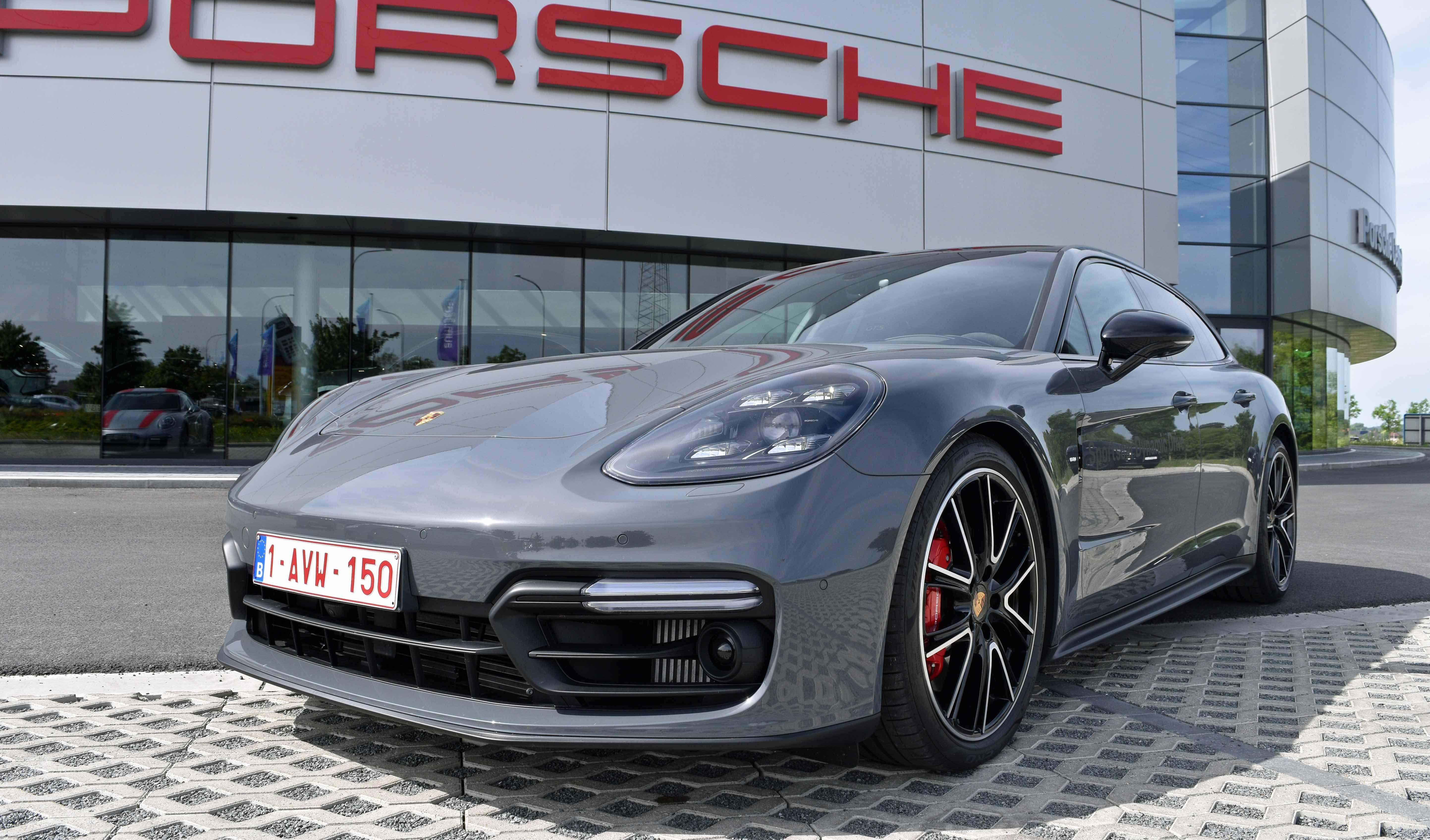 Grigio Telesto Porsche Panamera Gts Sport Turismo Pts