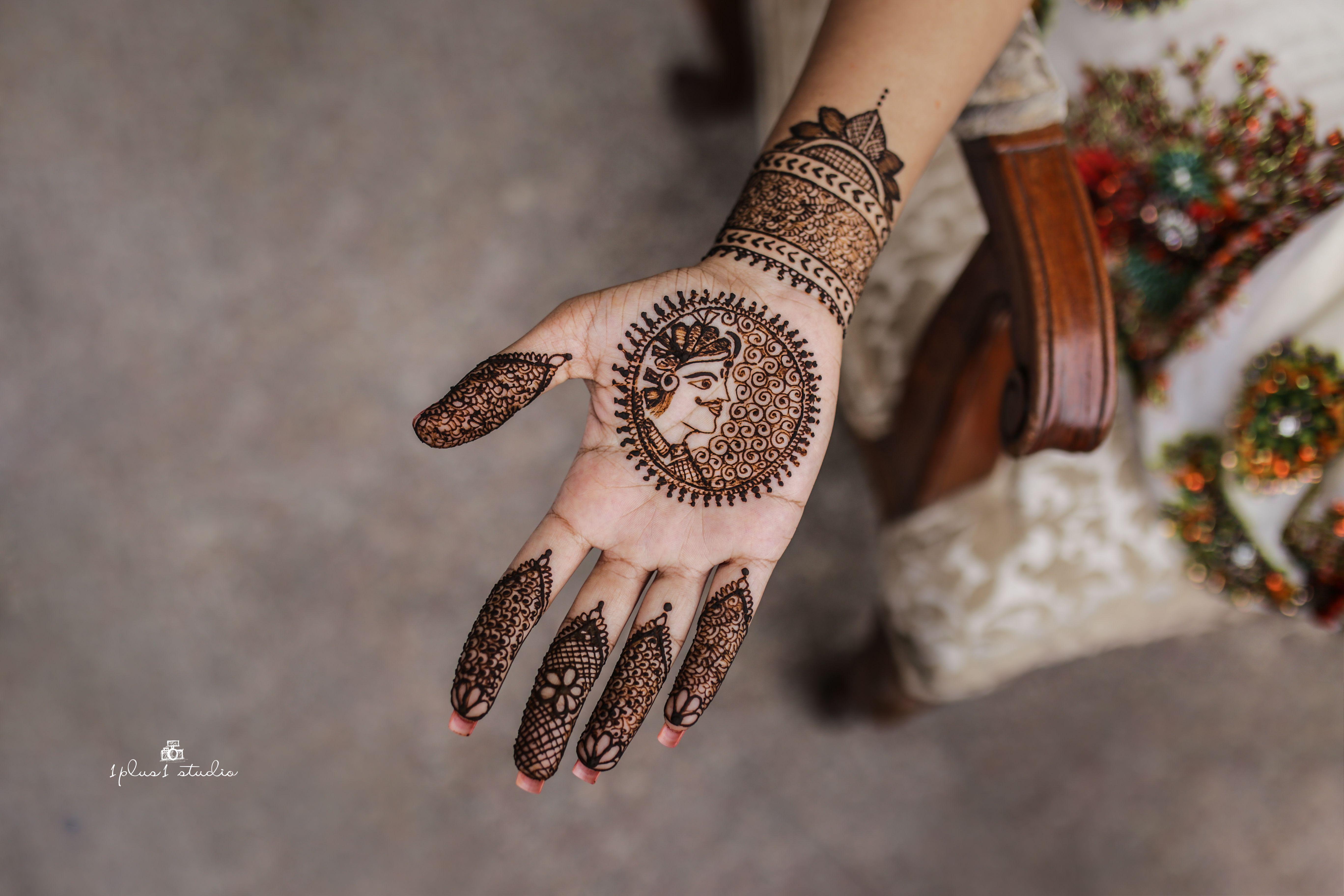 Mehndi Bridal Design : Wedding mehndi bride groom design photography