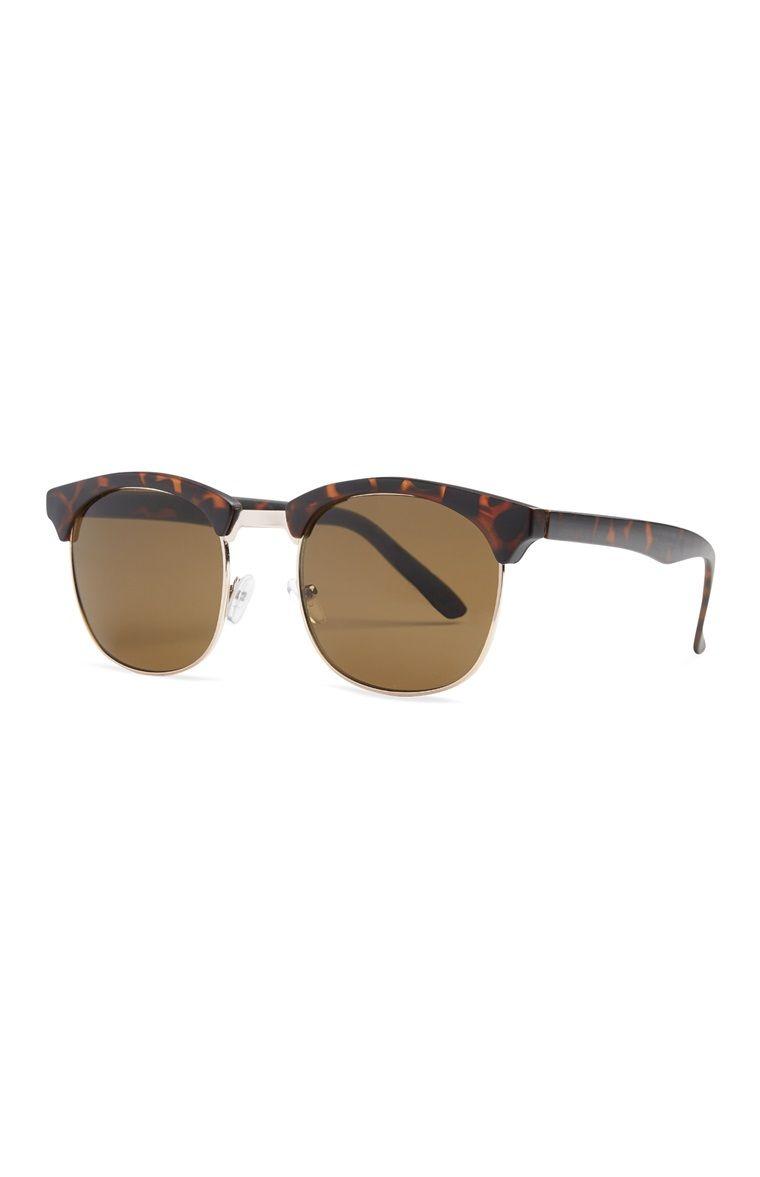 Brown Vintage-Style Sunglasses   Fashion   Pinterest   Lunettes de ... 0f9353d7666c