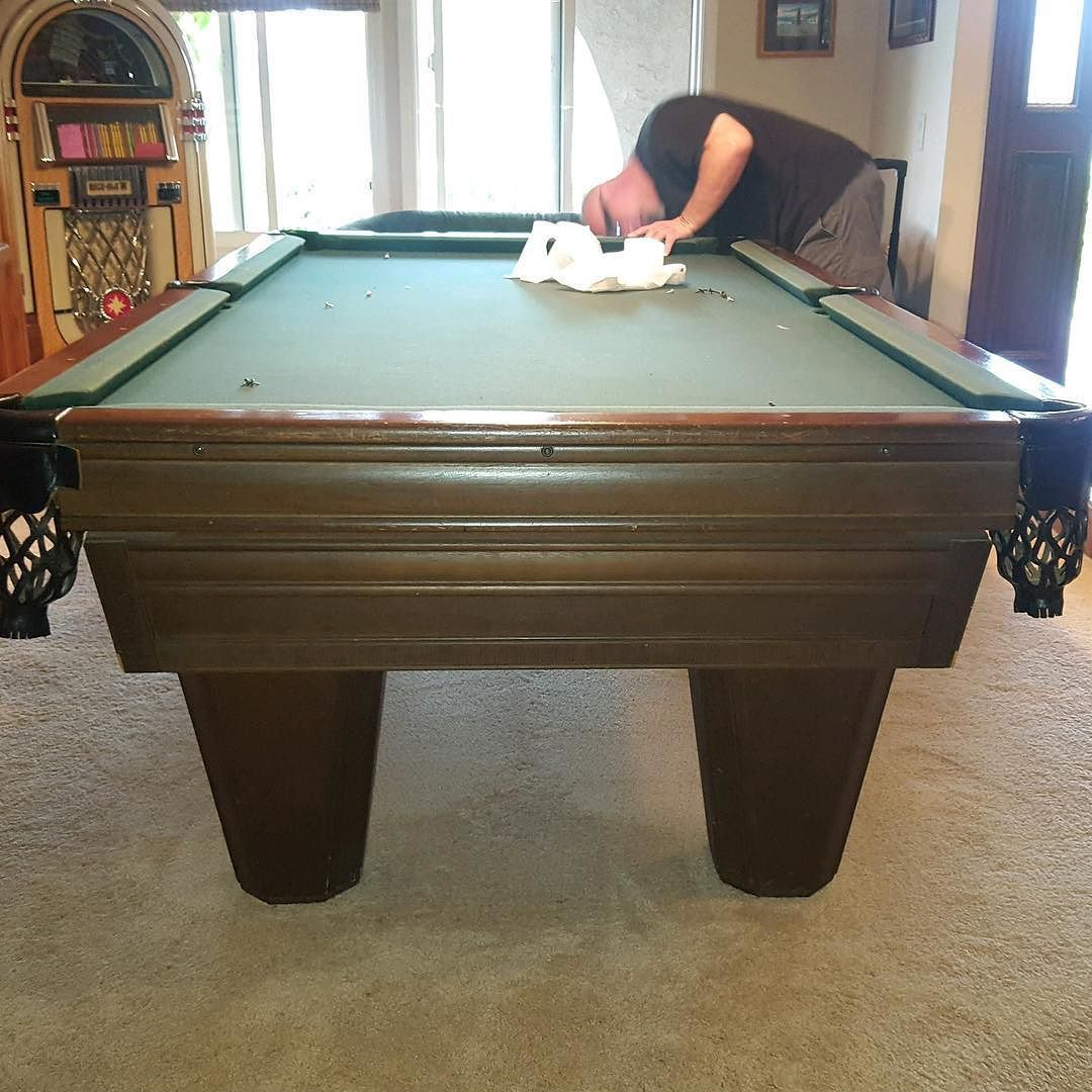 Pro Foot Brunswick Heritage In San Juan Capistrano Getting New - How to take apart a pool table