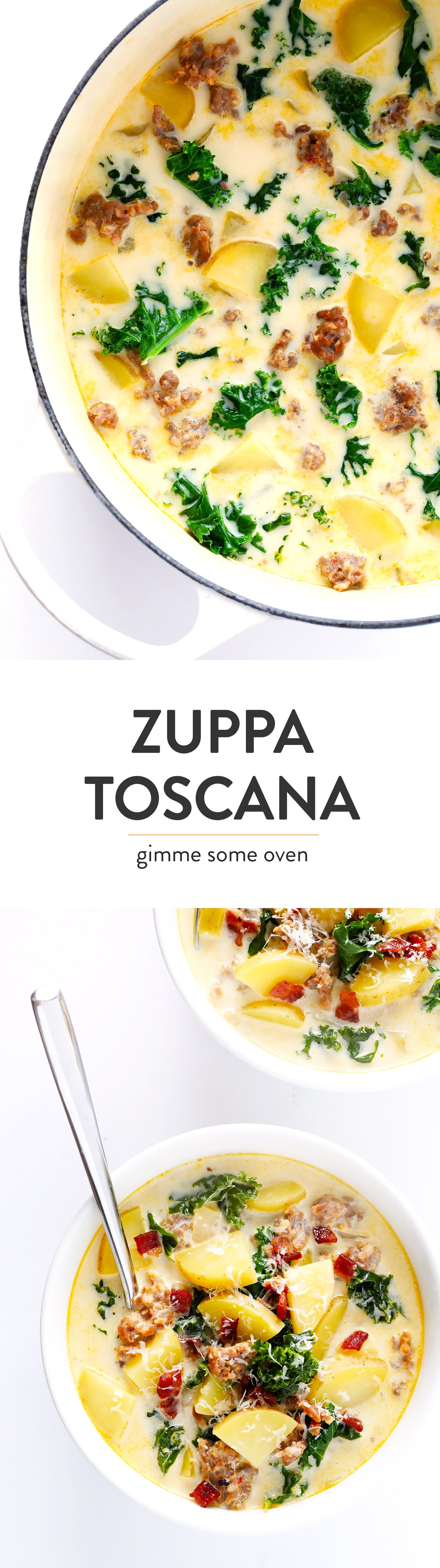 Zuppa Toscana (Olive Garden Copycat) Recipe Food