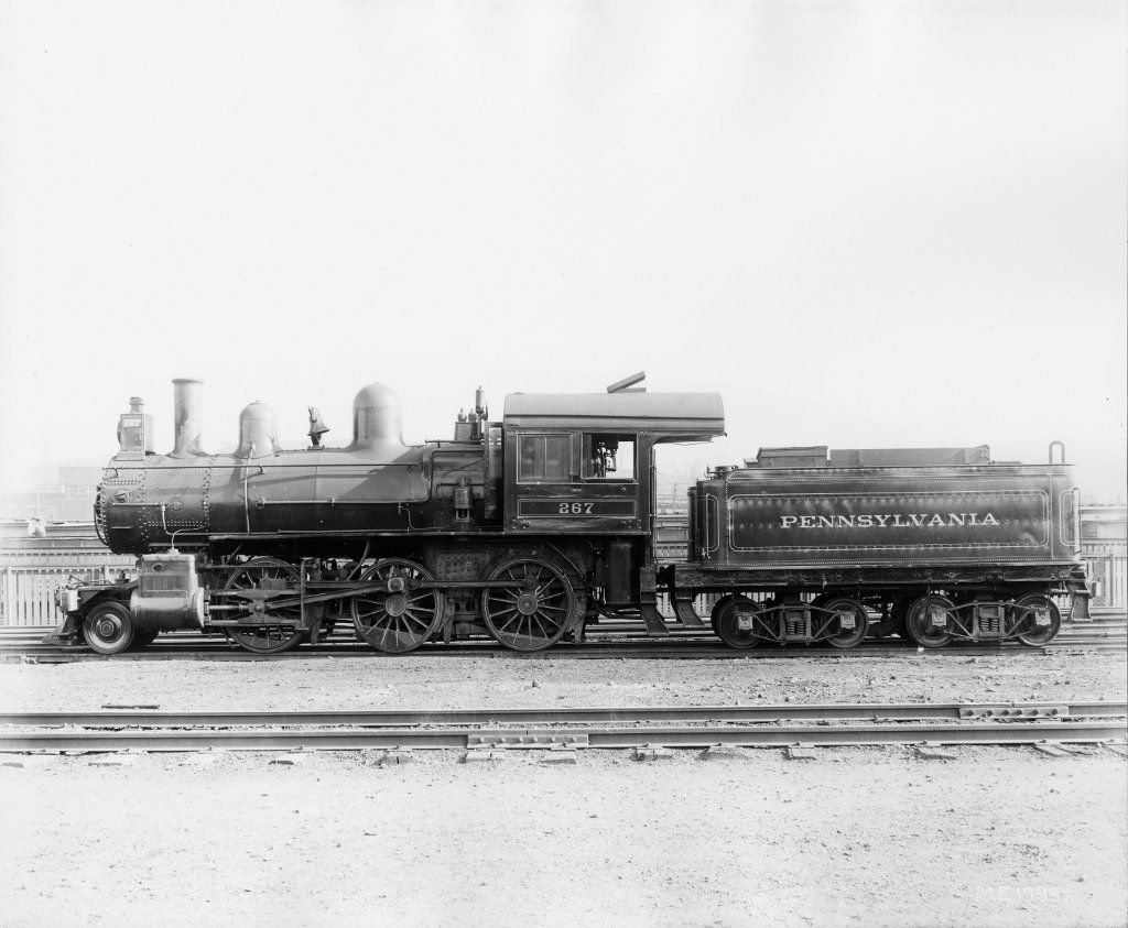 Class F1)  Pennsylvania R R  2-6-0   PENNSYLVANIA R R