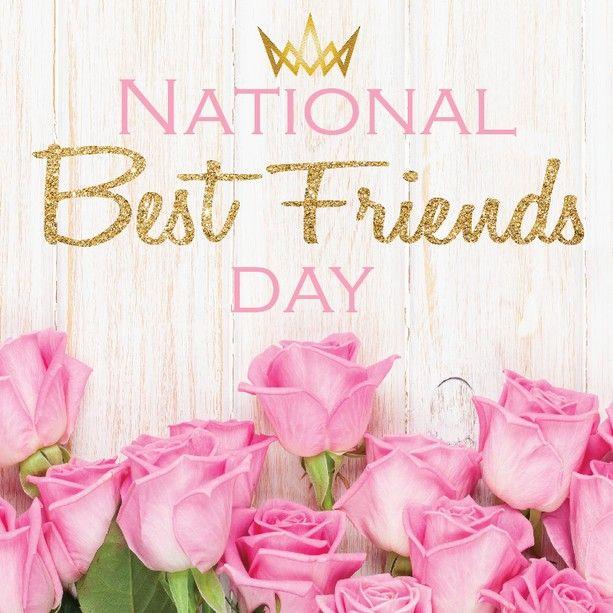 Happy Nationalfriendshipday Lovelies Send Your Bestie Good Vibes Today 3 Davidcharlesch Best Friend Day Best Friends Day Quotes National Best Friend Day