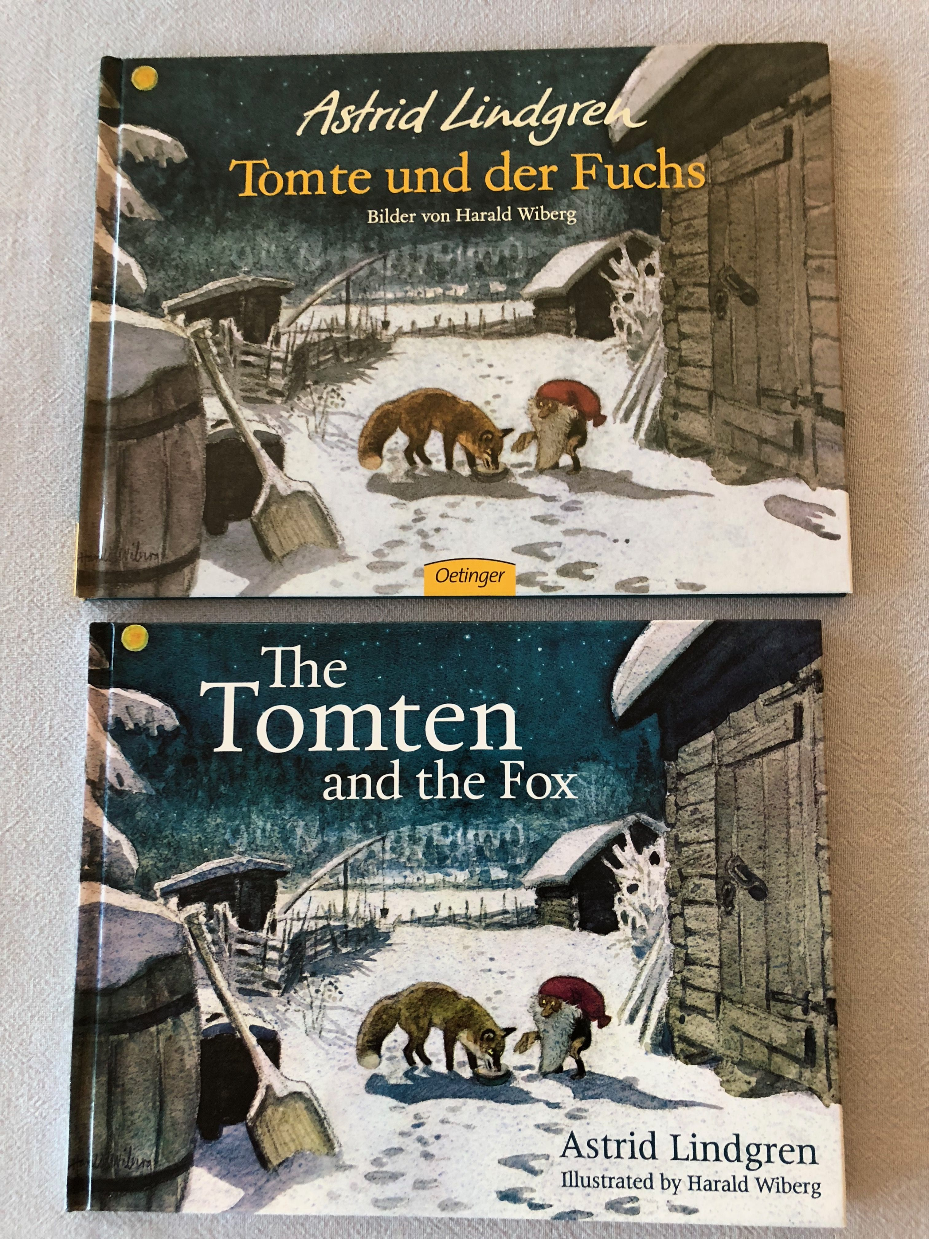 Torte Und Der Fuchs The Tomten And The Fox Beautiful Stories Traditional Toys Storybook