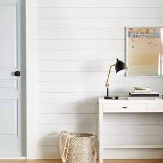 Textured Shiplap Peel Stick Wallpaper White Threshold In 2020 Peel And Stick Wallpaper Peel And Stick Shiplap Shiplap