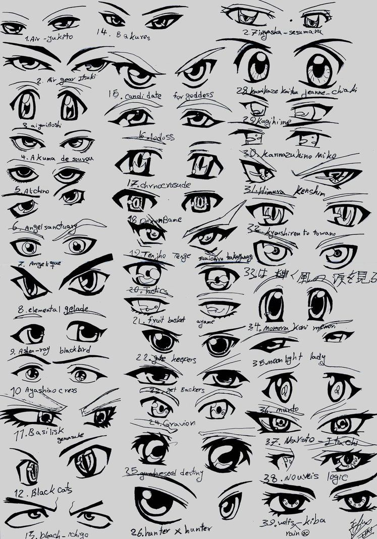 39 Male Anime Eyes By Eliantart On Deviantart How To Draw Anime Eyes Anime Eye Drawing Manga Eyes