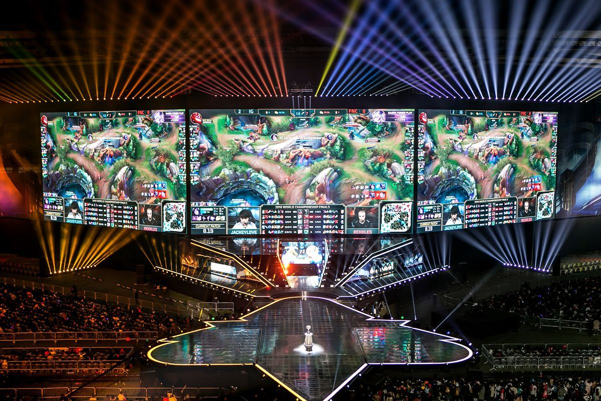 Inside The World Cup Of E Sports League Of Legends Esports World Cup