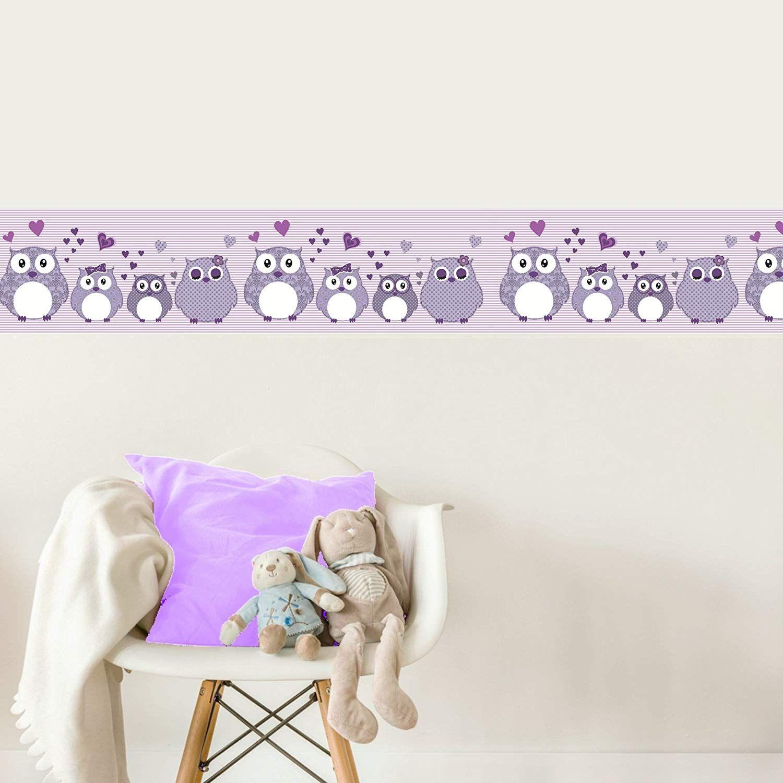 Livingstyle Wanddesign Vlies Bordure Selbstklebend Furs Kinderzimmer Hochwertig Bedruckte Vliestapete Mit Leich Kinder Zimmer Lila Kinderzimmer Kinderzimmer