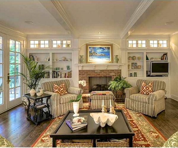 Down The Street In Dunwoody: A Traditional Brick House